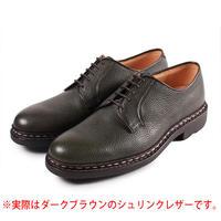 【 パターンオーダー※受注生産品 】CHN7201E-プレーントゥ /  ダークブラウン Shrink leather | 42ND ROYAL HIGHLAND Explorer