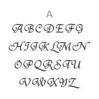《フォントtype:A》カフリンクスへのイニシャル刻印サービス  | 42ND ROYAL HIGHLAND Silver Collection made in japan