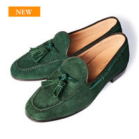 CS0006S-43 / Green Suede | 42ND ROYAL HIGHLAND transfer