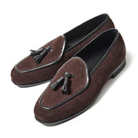 CS8024-11 / D.Brown Suede | 42ND ROYAL HIGHLNAD transfer