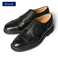 【 別冊2nd 革靴自慢2掲載】CHN7301E-01 / Black Shrink leather | 42ND ROYAL HIGHLAND Explorer