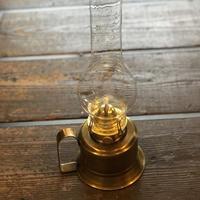 真鍮手燭オイルランプ