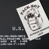 アウトドアモンスター PACK‐BOY 黒