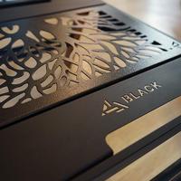 BLACK Design 日和 アイアンプレートTree2枚セット ※他商品との同梱不可