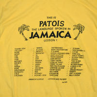 "USED ""THIS IS PATOIS / LESSON 1"" T-shirt"