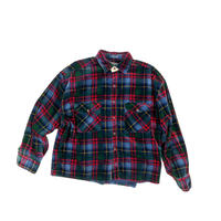 "USED ""CHAPS"" REMEKE CORDUROY CHECK SHIRT"
