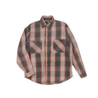 "USED ""BIG MAC"" PLAID COTTON SHIRT"