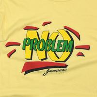 """USED """" NO PROBLEM JAMAICA"""" T-SHIRT"""