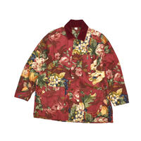 "USED ""SMITH & HAWKEN"" FLORAL COVERALL"