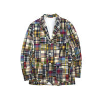 "USED ""POLO RALPH LAUREN""PATCHWORK TAILORED JACKET"