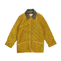 """USED """"TRADITIONAL WATHERWEAR""""LEATHER COLLAR QUILTING JKT"""