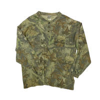 "USED ""JERZEES OUTDOOR"" HENRY NECK L/S SHIRT"