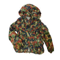 "USED ""SWISS ARMY"" ALPINE CAMO COTTON MOUNTAIN JACKET"