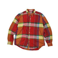 "USED ""BASIX"" HEAVY FLANNEL CHECK SHIRTS"