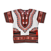 "USED ""MAMA & BABA"" DASHIKI SHIRTS"