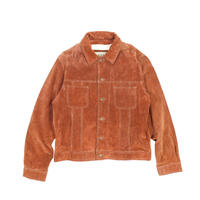 "USED ""M.JULIAN"" SUEDE TRACKER JKT"