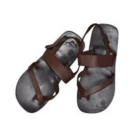 "USED ""OUR TRIBE"" LEATHER SANDAL"