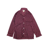 "USED ""NORM THOMPSON"" STRIPE PAJAMA SHIRTS"