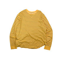 "USED ""OLD NAVY"" BORDER L/S TEE"