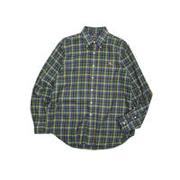 "USED ""AMERICAN LIVING"" COTTON PLAID B.D. SHIRTS"