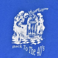 "USED ""BACK TO THE 40'S"" TEE"