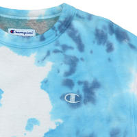 "USED ""CHAMPION"" TYE-DYE CREW SWEAT"