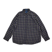 "USED ""90'S TOWNCRAFT"" PLAID SHIRT"