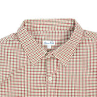 "USED ""STEVEN ALAN USA"" GINGAM CHECK SHIRTS"