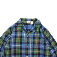 "USED ""L.L.BEAN"" COTTON FLANNEL PAJAMA SHIRTS"