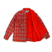 "USED ""90'S OUTDOOR EXCHANGE"" FLANNEL QUILTING SOX SHIRTS"