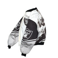 "USED ""80'S CHALK LINE"" RAIDERS FANIMATION JACKET"