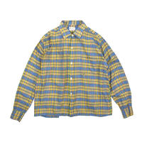 "USED ""BNADMANK"" OPEN COLLAR PLAID SHIRTS"