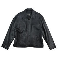 "USED ""GUESS"" LEATHER JACKET"