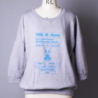 【SS10】ELECTRIC RABBIT 7分袖スウェット