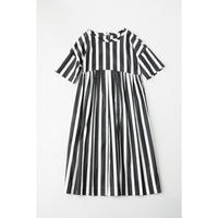 CHSS19-3752A  GROSGRAIN COTTON TWIST KNECK DRESS MID(110CM)