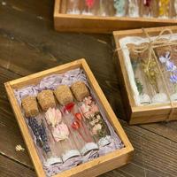 フラワーミニボトル gift box(4本入り)