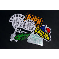 RAID JAPAN 7 STICKERS PACK (B set)