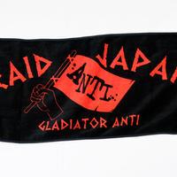 GLADIATOR Anti TOWEL(BK/RD)
