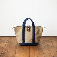 CaBas N°56 Bowlerbag standard mini  [Khaki Beige/Navy]