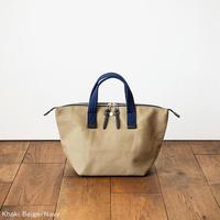 CaBas N°33 Bowler bag small [Khaki beige / Navy]