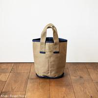 CaBas N°50 Laundry bag small [Khaki Beige/Navy]