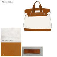 《SS20新作プレオーダー》CaBas N°55-plus 1 day tripper mini (White/Amber)