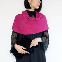◆即納◆Corona[コロナ] スヌード・ケープ / フューシャ・ピンク