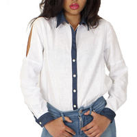 DENIM LINEN SHIRTS