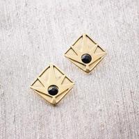 Horizon Earring / BLACK <受注生産>