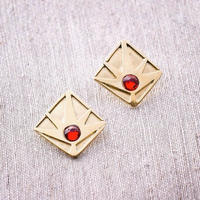 Horizon Earring / RED <受注生産>