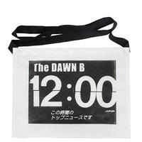 THE DAWN B  × bulbs 超軽量 サコッシュ WHITE/BLACK