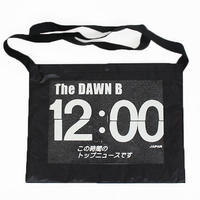 THE DAWN B  × bulbs 超軽量 サコッシュ BLACK/BLACK