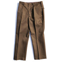 "BROWN by 2-tacs ""STRAIGHT SLACKS"""