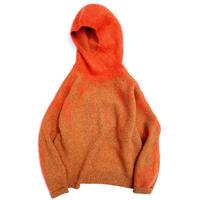 """amachi. """"Rainy Pattern Knit Hoodie"""""""